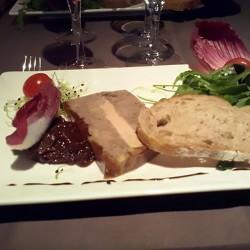 Emiettés de canard au foie...